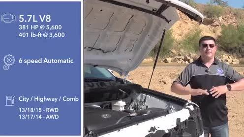 发动机舱展示,全新一代丰田Sequoia测试与展示