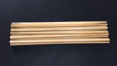 用清水洗筷子等于白洗,用这个方法,洗完比新的干净,半年不发霉