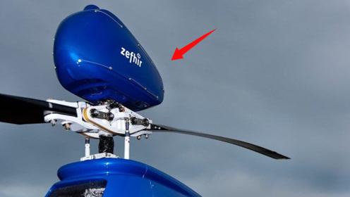给直升机安个降落伞,让直升机永不坠机,就是外形有点诡异