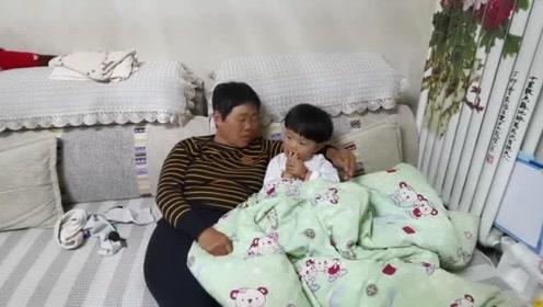 奶奶给宝宝讲故事,全程用山东方言无字幕,你们能听懂吗?