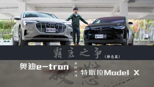 奥迪e-tron硬怼特斯拉Model X (静态篇)
