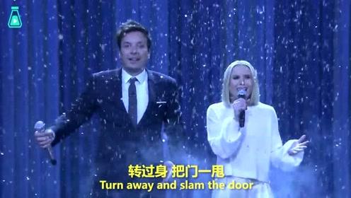 主持人与Anna公主配音演员飙歌,把迪士尼的名曲唱了个遍!