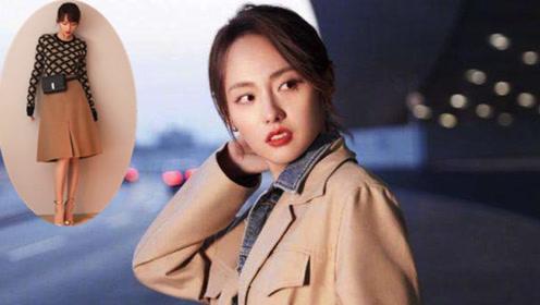 冬天内搭就喜欢张嘉倪这范儿,特有知性魅力,还充满了自信!