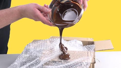 巧克力的创意吃法,这是有多无聊,才想出的做法?