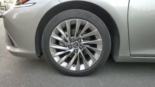 抢鲜看:雷克萨斯ES300H轮圈,多幅式设计,多线条营造立体感