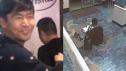 杭州4名刑警上1秒还在苦寻嫌犯,下1秒在饭店偶遇瞬间乐了