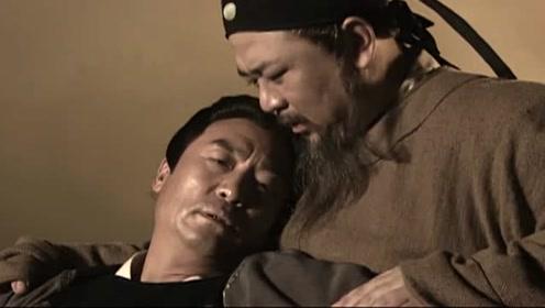 案件结束,虎敬辉为救狄仁杰而死,狄仁杰.仰天而望