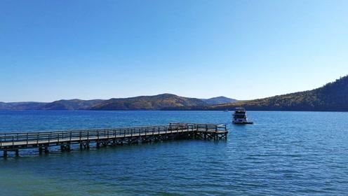 世界上最深的淡水湖,储水量居世界第一,水干净到可以直接饮用
