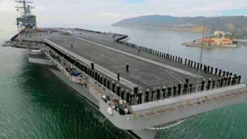 美国引以为傲的核动力航母再次窝趴,美军:根本无法作战