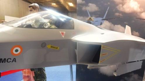 印度展示其五代机进气口设计,抛弃了美国技术,向歼-20学习