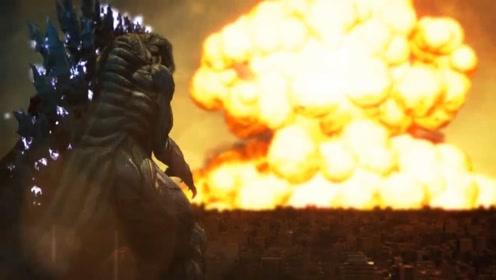 3D微电影:人类大战巨型哥斯拉之王,场面令人震撼