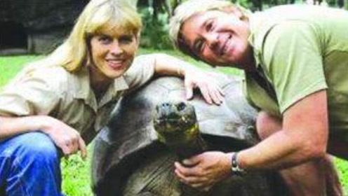 达尔文去世124年,他的乌龟却等了他124年,我一直在等你!
