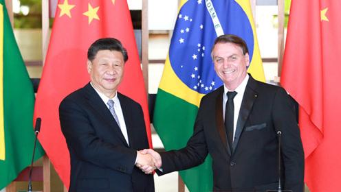 习近平会见巴西总统博索纳罗:中国与巴西要保持战略定力 筑牢互信