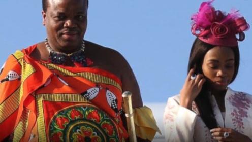 非洲国王娶15位妻子,每人一台劳斯莱斯 ,国民却吃也吃不饱!