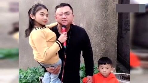 """""""连体""""夫妻,残疾小伙抱着老婆,拉着孩子唱歌,感动了!"""