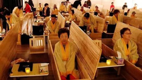 """韩国兴起""""生前葬礼"""",寿衣遗照遗书一个不落,免费的十分钟却能改变人生!"""