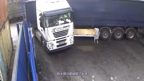 这么倔的司机,明知道行不通,仍坚持原地掉头