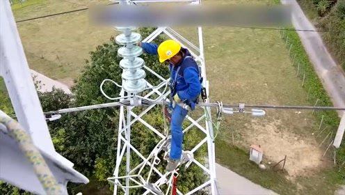 新来的电缆安装师傅,工资开到60000,看完安装过程大家都服了