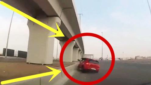 女司机马路上斗气,三秒后车毁人亡,后车司机目睹惊险全程!