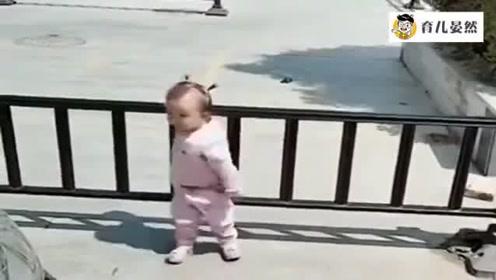 永远不要低估,一个1岁小孩的智商,一波操作太聪明