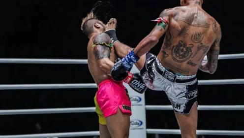 泰拳第一人雅桑克莱遭冷拳组合连击 惨被KO失去意识