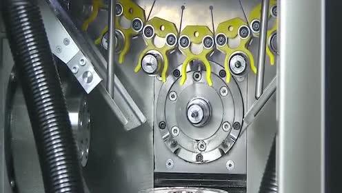 德国的数控机械加工过程!光滑细腻非常给力!工业强国就是牛
