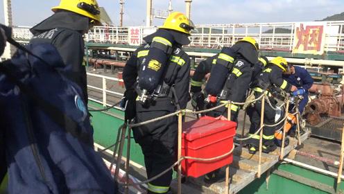浙江舟山3人下船舱检修中毒,1人抢救无效死亡