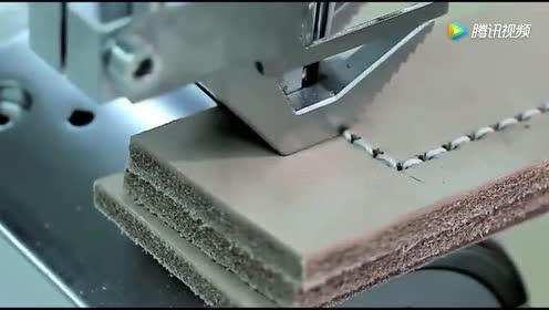 专门缝制厚皮革的的缝纫机!结构很强!