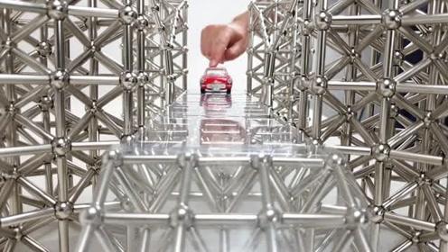磁力球还可以这么玩:666,磁力球塔桥,磁石游戏