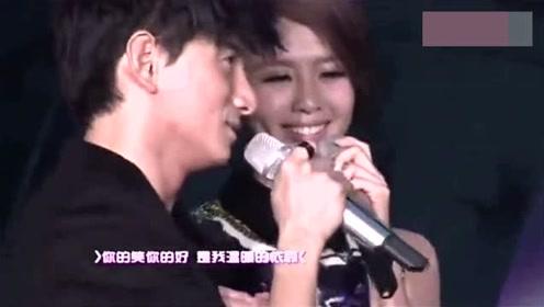 刘诗诗和吴奇隆,就是因为合唱这首歌走到了一起,刘诗诗好美