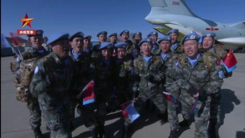 中国蓝盔英雄!