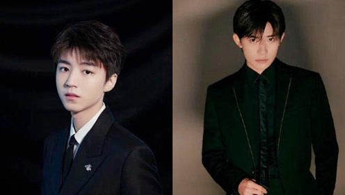 金鸡奖兄弟撞衫,易烊千玺和王俊凯都选了黑色西装,谁赢了?