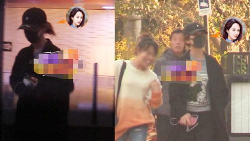 杨紫私下去整形美容医院被拍,全副武装遮挡,此前否认整容被打脸