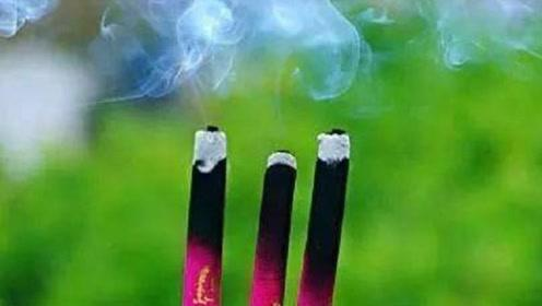 烧香为什么总是烧三根,全国未经商量,却能出乎意料的统一?