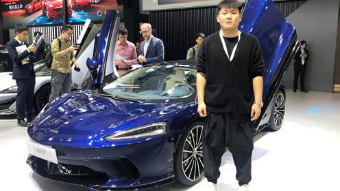 """优雅的""""超跑"""" 迈凯伦GT - 2019广州车展"""