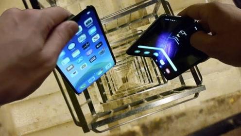 把苹果11和三星手机,同时从20层楼扔下会怎样?网友:真土豪!
