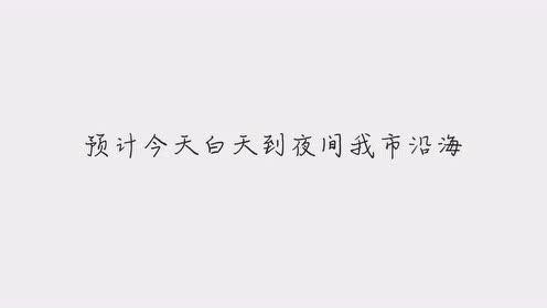 11月21日福建省龙海市气象台发布大风黄色预警