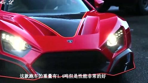 丹麦推出一款新型跑车,采用尾翼自动调节模式,可增加跑车速度!