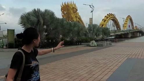 越南设计师想法大胆!把一整条龙放在桥上,全球找不出第二座
