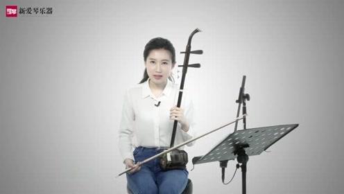 新爱琴从零开始学二胡:第33课《杜十娘》讲解