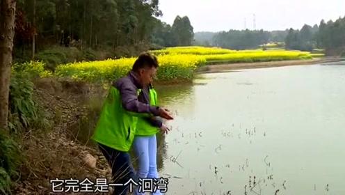 野钓鲫鱼选位技巧:钓鱼们都常选择水库洄湾处作钓大鱼
