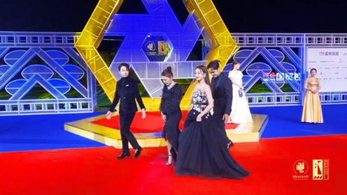 第32届中国电影金鸡奖颁奖典礼红毯,迪丽热巴、热依扎、明道、俞灏明亮相