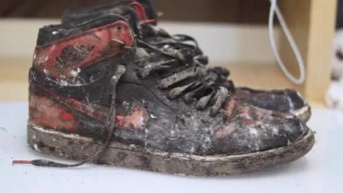 破鞋子翻新卖了1200美元,看完才知道真的值,不愧是AJ!
