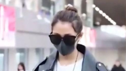 关晓彤现身机场,谁注意到她的肚子,网友纷纷留言:什么情况?
