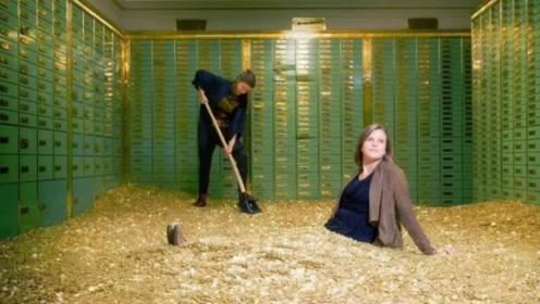 """美女花35万买下""""破产银行""""后,当她进去打扫时,结果发现意外惊喜!"""