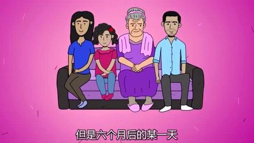 女孩与素未谋面的奶奶相见,不料却成最后一面,最后结局可怕!