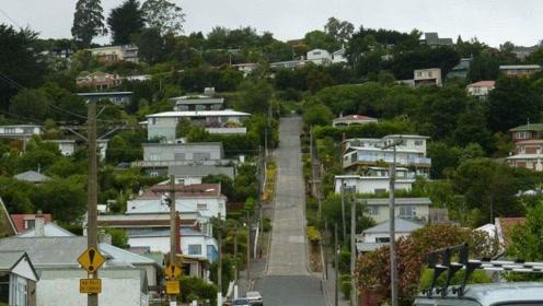 """世界上最陡峭的街道,每天""""爬""""着回家,曾获吉尼斯世界纪录"""