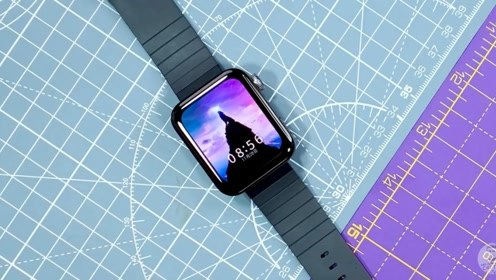 小米新款智能手表开箱评测,和Apple Watch有多大差距
