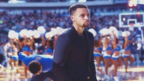 NBA现役又帅又会打球的球员,萌神库里上榜,他都能去当男模了!