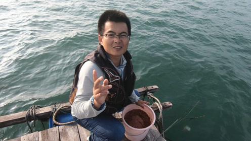 渔夫昨天爆箱狂钓几十斤鱼,今天又过去钓,结果有点意外